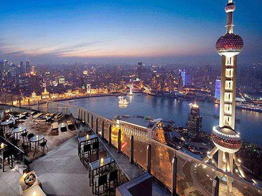 Top Three Rooftop bars in Shanghai